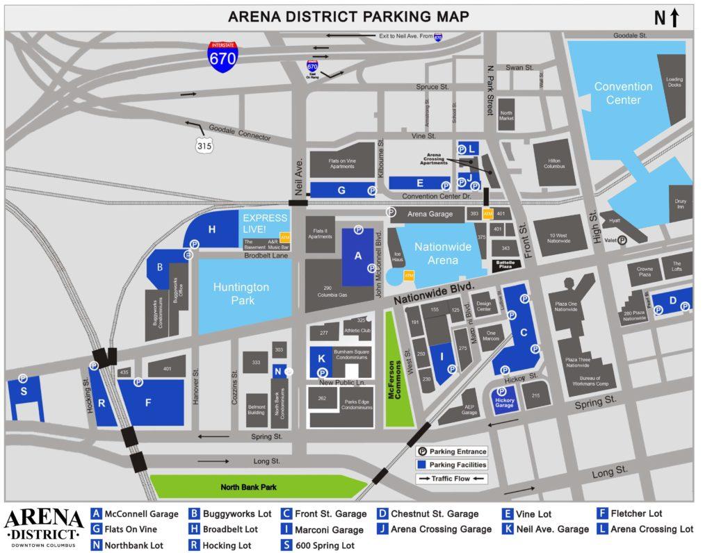 Arena District Parking