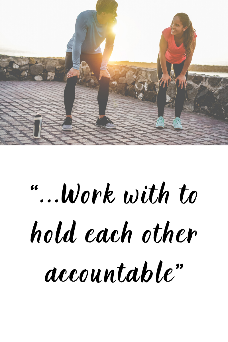 How to achieve realistic new year resolutions: get an accountability partner