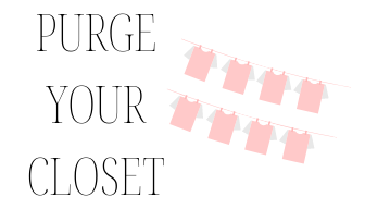 50 ideas for self improvement! Idea for self improvement:  purge your closet.