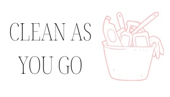 50 ideas for self improvement! Idea for self improvement: clean as you go.