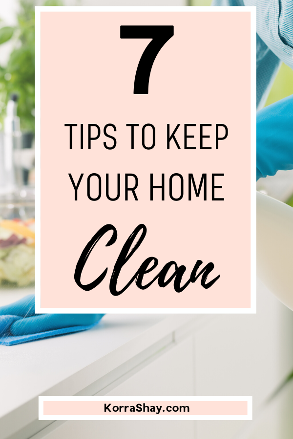 How To Always Keep Your Home Clean