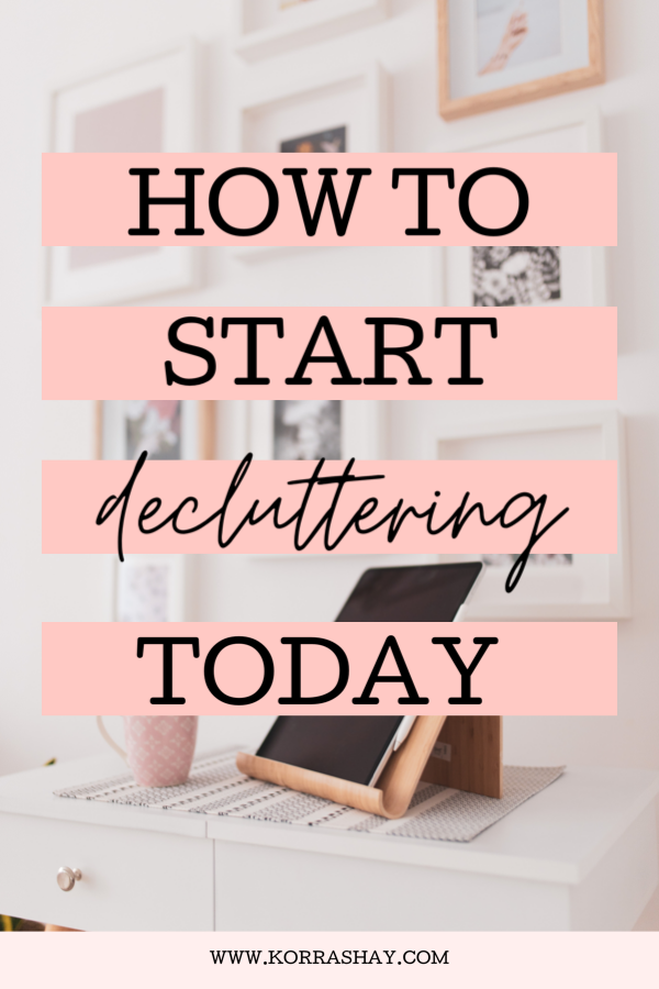 18 Easy Decluttering Projects: the ultimate declutter challenge