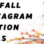 100 Fall Instagram caption ideas!