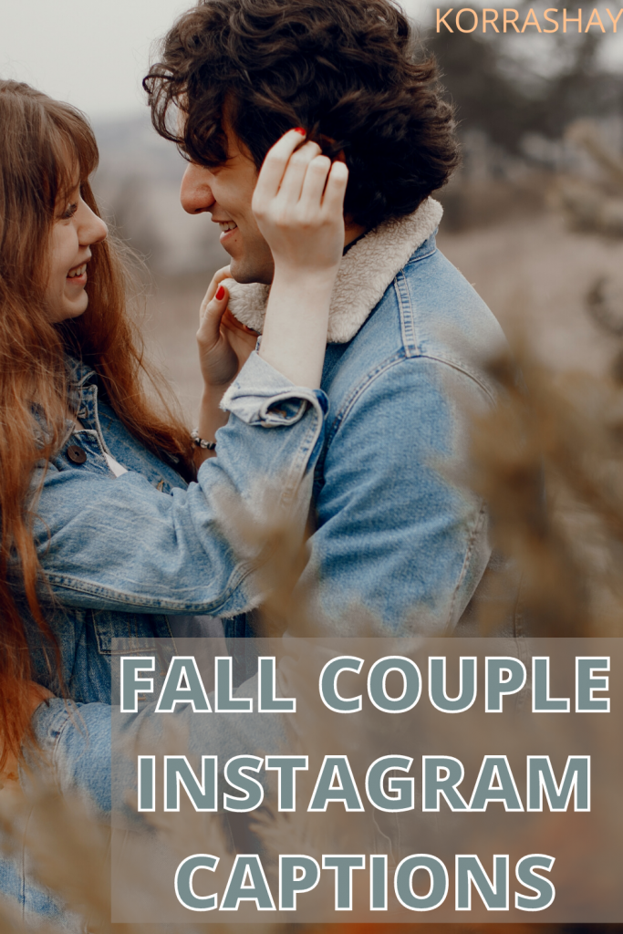 Fall couple Instagram captions!