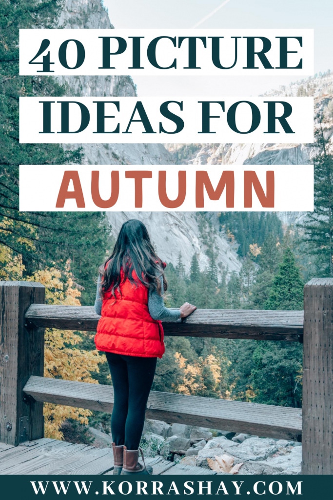 40 picture ideas for Autumn!