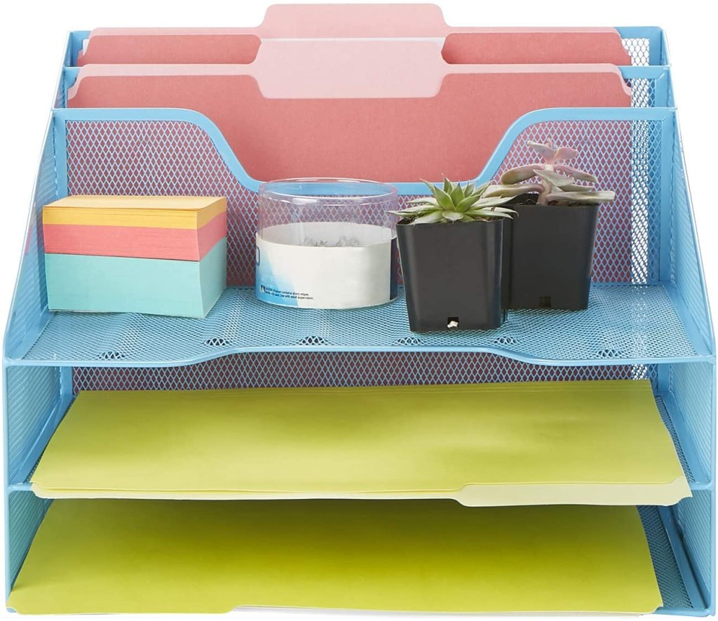 Gift Ideas For People Who Work From Home: desk organizer