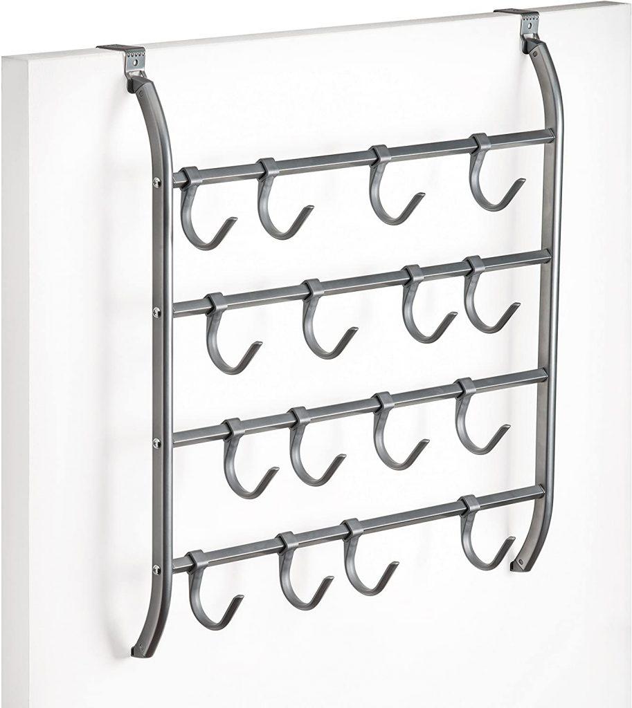 over door multi door hanger for organized closets