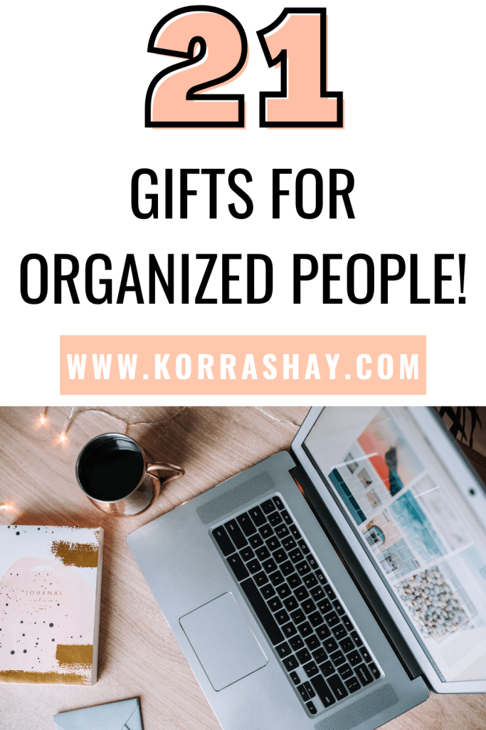 21 gifts for organized people!