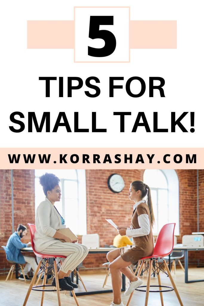 5 tips for small talk!