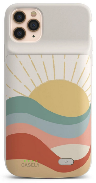 Gift for organized people: charging phone case