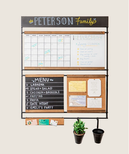 Gift for organized people: home command center