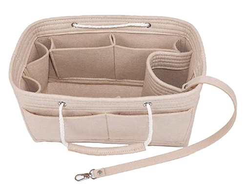 Gift for organized people: purse organizer insert