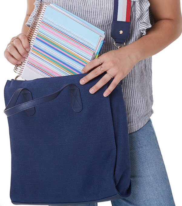 planner tote bag gift for planners