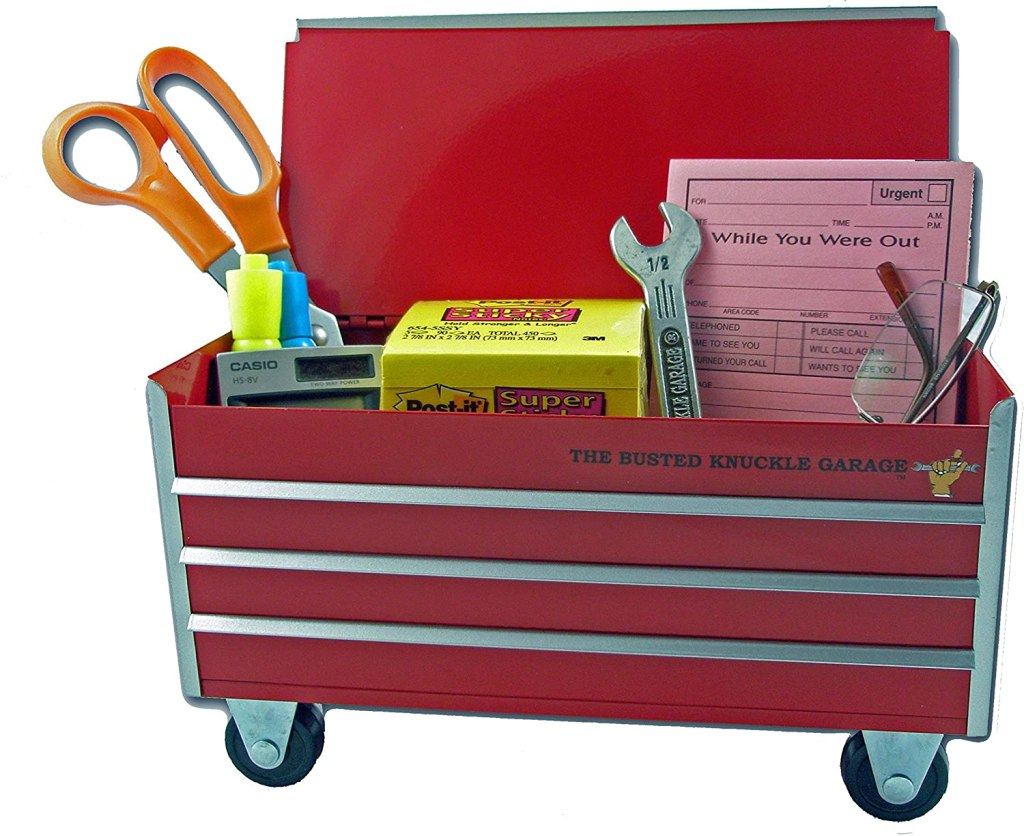 mini toolbox desk organizer gifts for dad