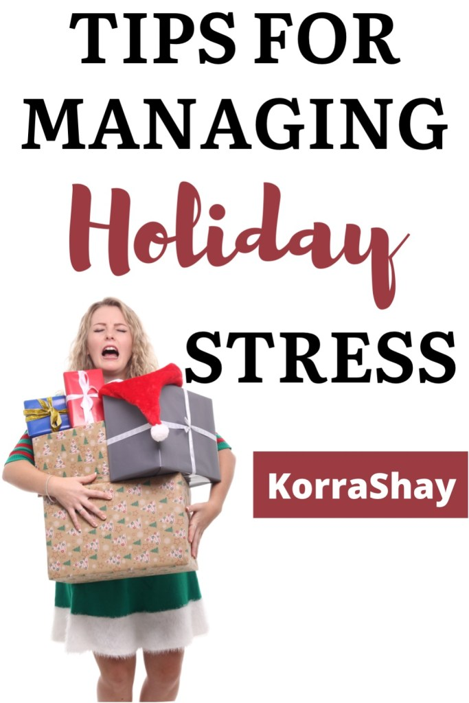 Tips for managing holiday stress!