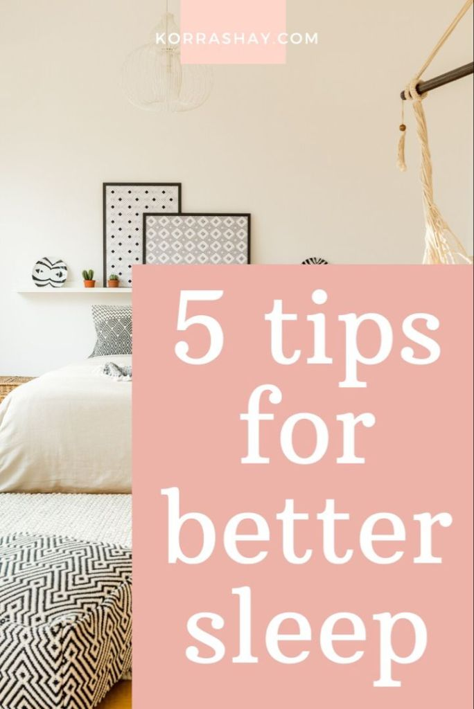 Tips and Tricks for Better Sleep At Night