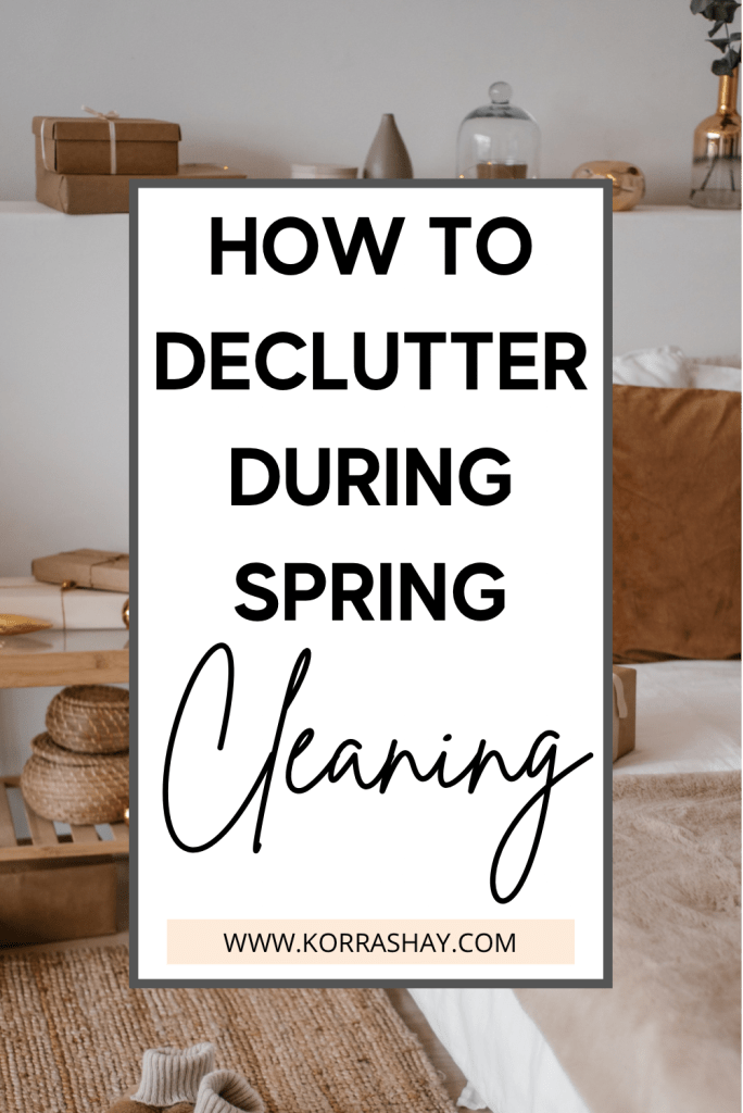 How to declutter during spring cleaning