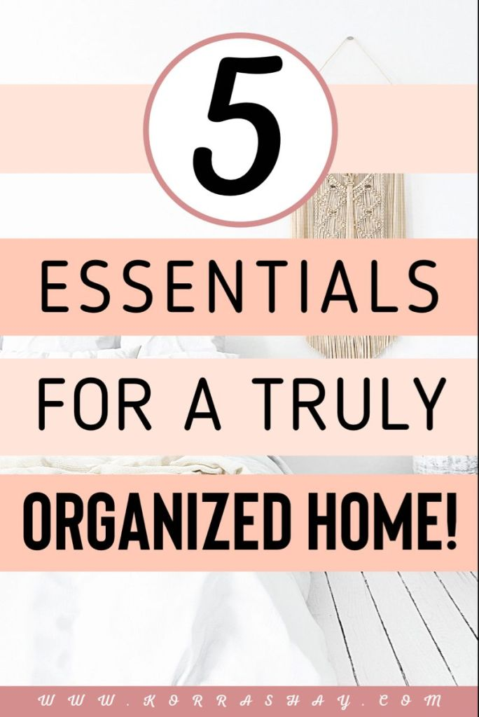 5 Affordable Amazon Home Organization Must Haves!
