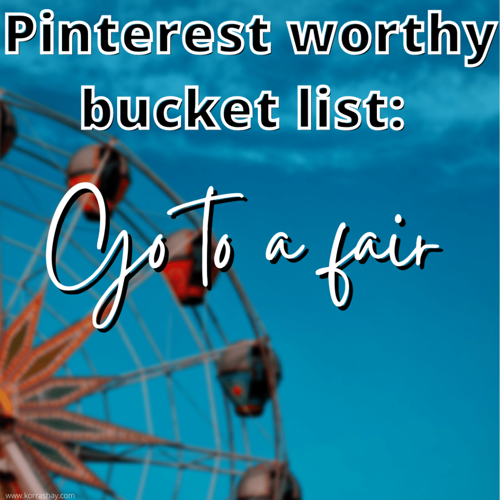 Summer Bucket List For A Pinterest Summer: 2021 Edition