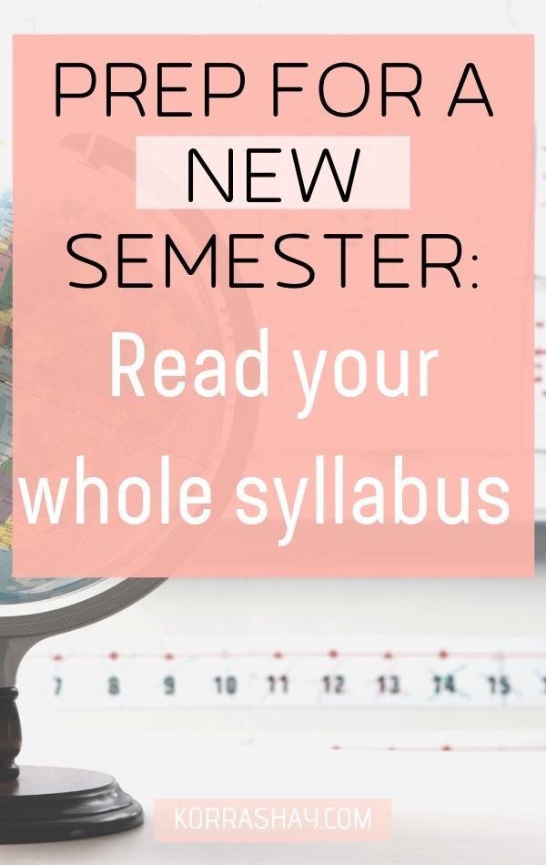 5 Things To Do Before the Semester Starts: Be a Better Student!