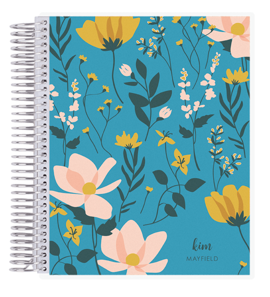 11 Trendy Summer Notebooks You Will Be Obsessed With Too! Blue notebook