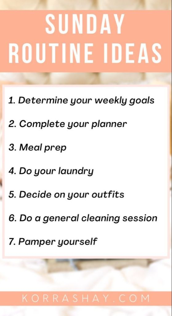 Things To Do on Sundays for a Better Week. Sunday habits to start doing