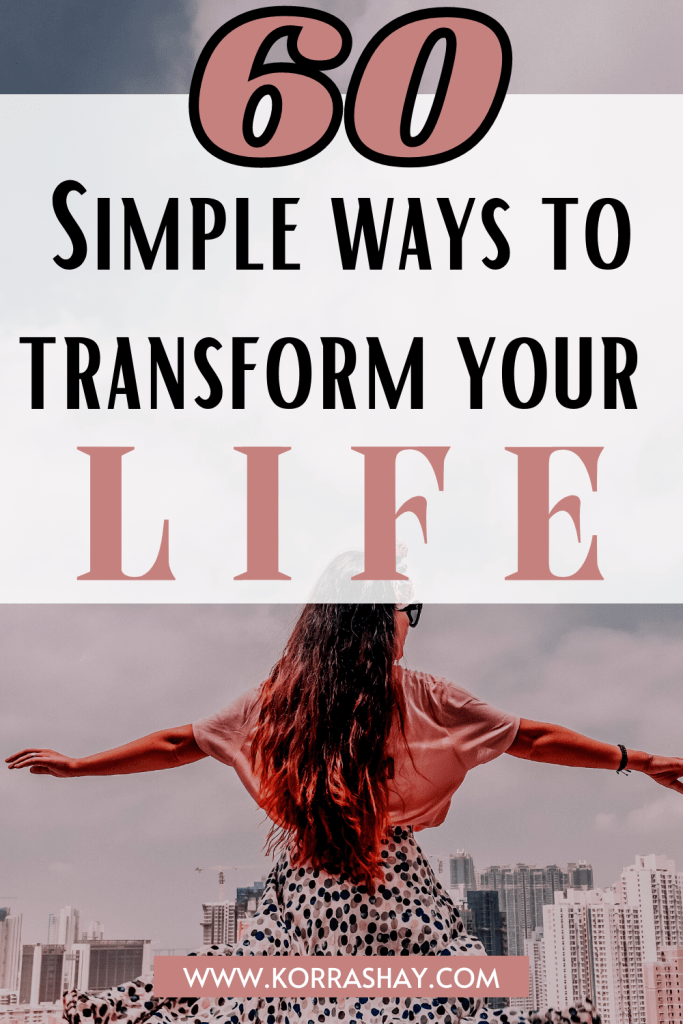 60 Small Ways To Make Your Life Better This Year