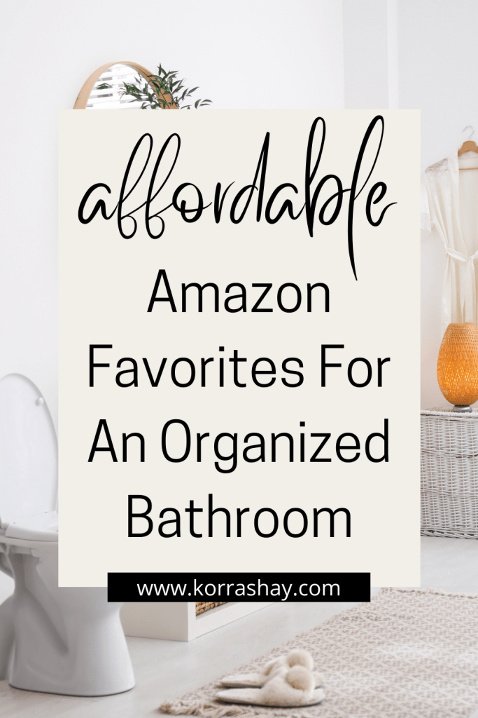 Affordable Amazon Favorites For An Organized Bathroom